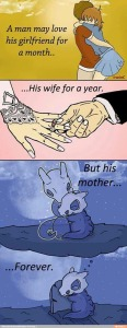mom eternity cubone