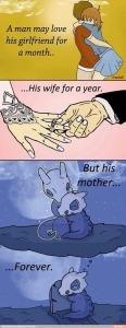 mom eternity cubone