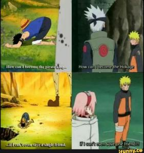 One Piece and Naruto_Luffy and Naruto