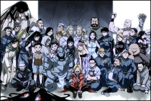 Fullmetal-Alchemist-Brotherhood1 group art