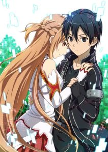 kirito and asuna together