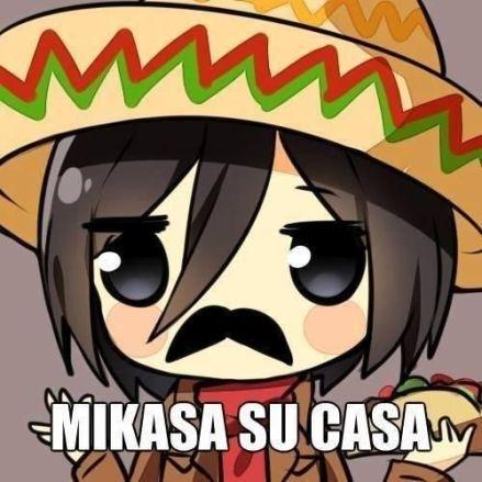 Mikasa spanish