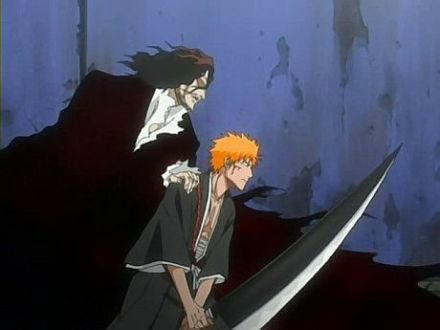 Image result for ichigo vs kenpachi